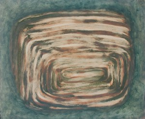 030. 'sealed tunnel', oil on canvas, 20x24ins, 2008