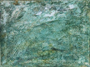 109.  'permeation', oil on canvas, 12x16ins, 2000