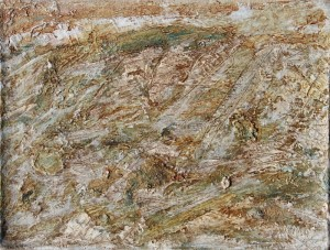 111.  'drifting', oil on canvas, 12x16ins, 2000
