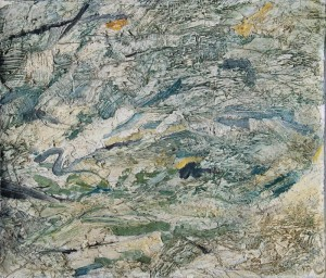114.  'stormy', oil on canvas, 12x14ins, 1999