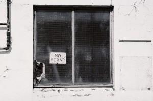 13. 'no scrap' (no. 1), digital image