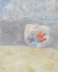 154.  'it's in the way', mixed media on paper, 1999