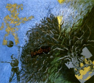 268.  '...not out of the wood yet...', oil on canvas, 55x65ins, 1985