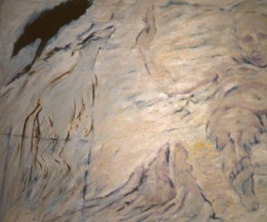286.  'in the district of the neutral', oil on canvas, 50x60ins, 1984