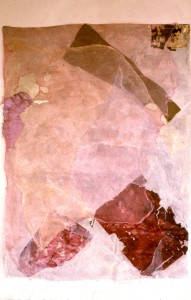 340.  untitled, mixed media - fibreglass, muslin, textiles,acrylic, 70x45ins 1981