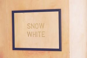 47.  'blizzard', mirror, 17x21 ins.,  1987